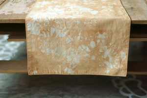 Mangrove natural dye Table Runner - Xiapism Natural Dye