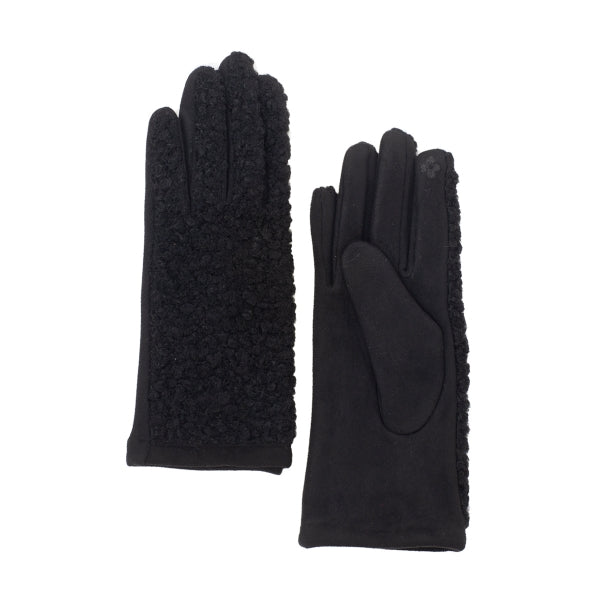 Curly Gloves - Black