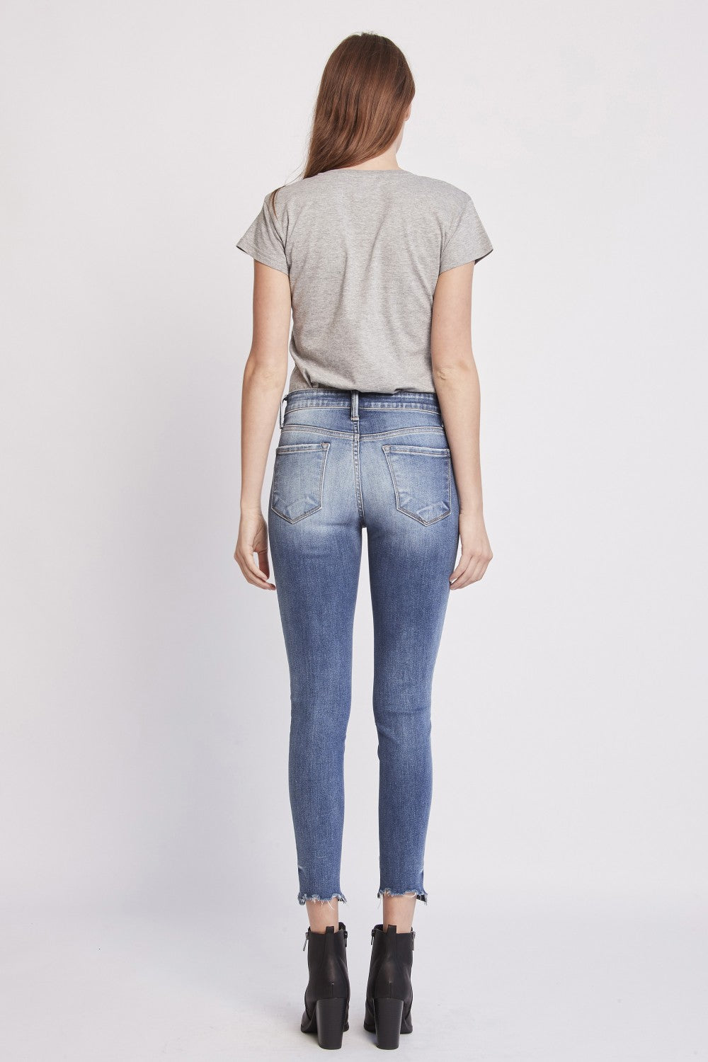 HIGH RISE CROPPED SKINNY - FORT