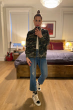 Load image into Gallery viewer, Camo Bomber Jacket - Camo