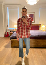 Load image into Gallery viewer, Wahed Plaid Shirt - Red
