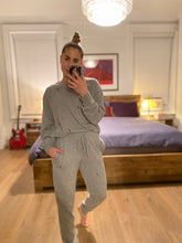 Load image into Gallery viewer, LIGHTNING BOLT JOGGERS - GREY