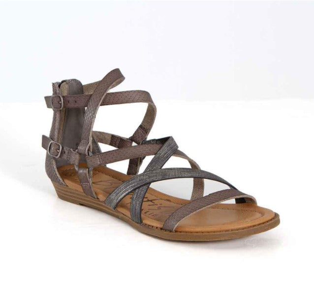 Strappy Sandal - Grey