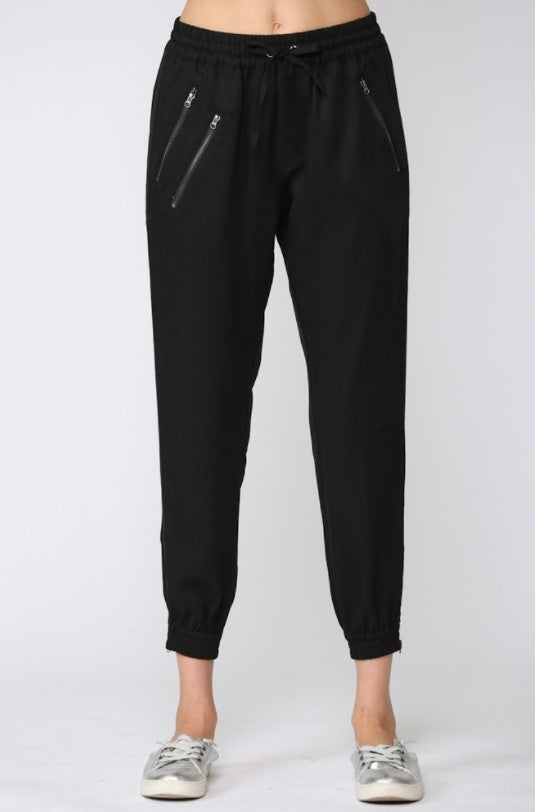 Tencel Jogger - Black