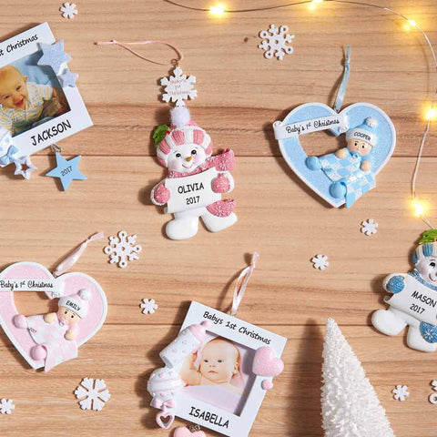 Personalized baby gifts dibsies personalization station personalized baby ornaments negle Image collections