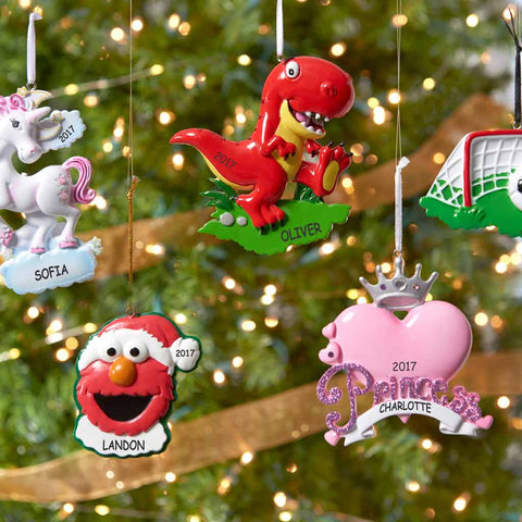 Christmas Ornaments With Names On Them.Personalized Christmas Ornaments Dibsies Personalization