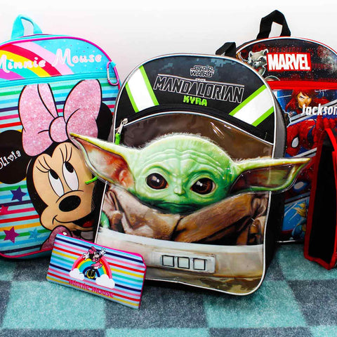 Character Backpacks & Lunch Boxes