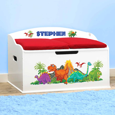 Personalized Toy Box & Bedroom Storage Collection