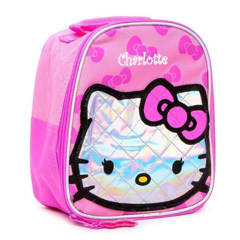 Personalized Hello Kitty Lunch Bag
