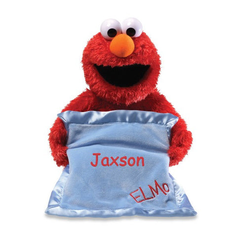 Personalized Gund Peek a Boo Elmo