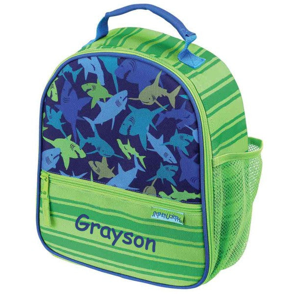 Personalized Trendsetter Sharks Lunch Box