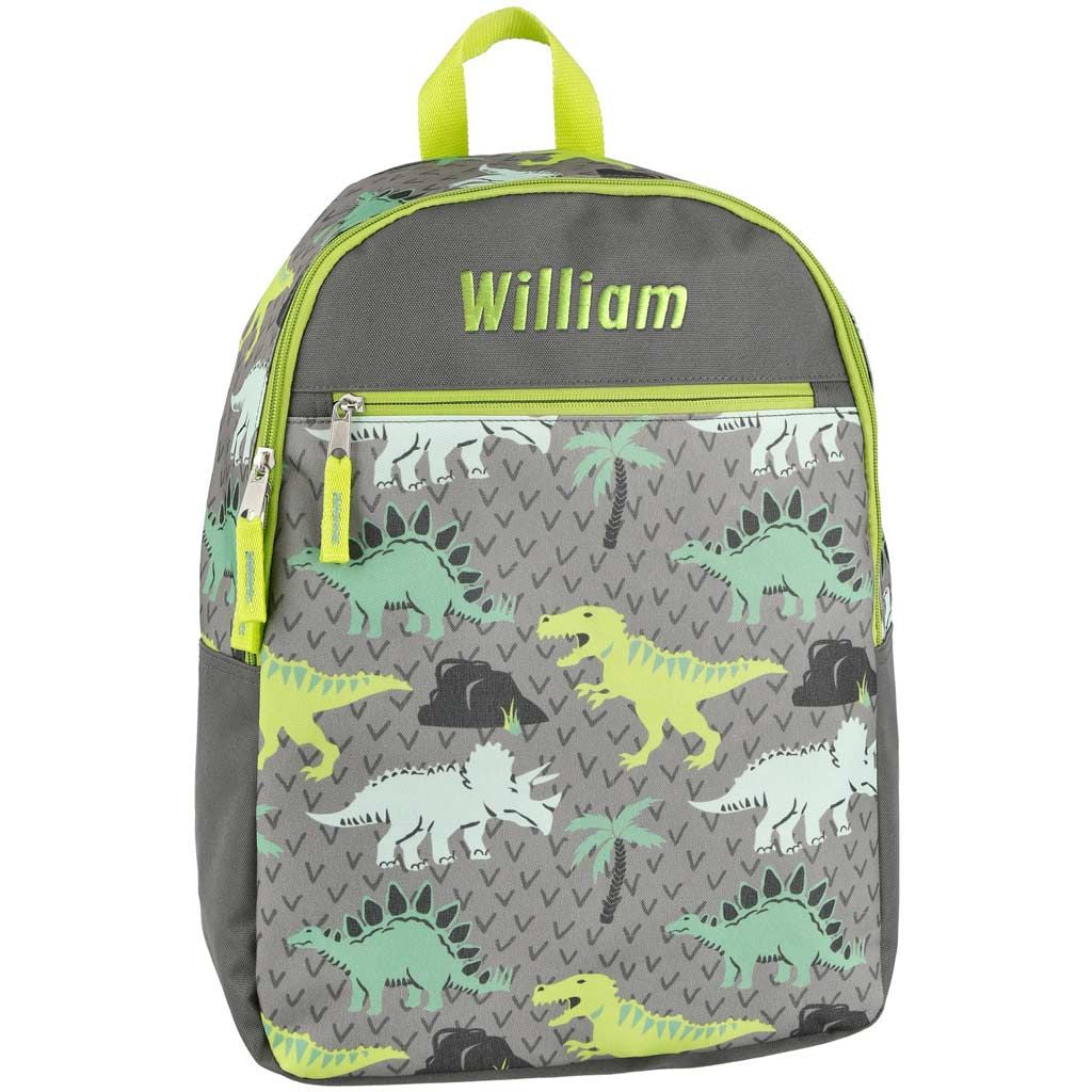 Personalized Dibsies Grab n Go Dinosaurs Backpack