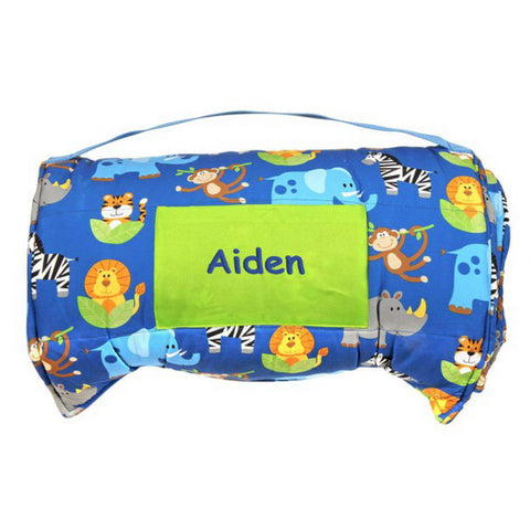 Personalized Toddler & Preschool Nap Mats - Safari