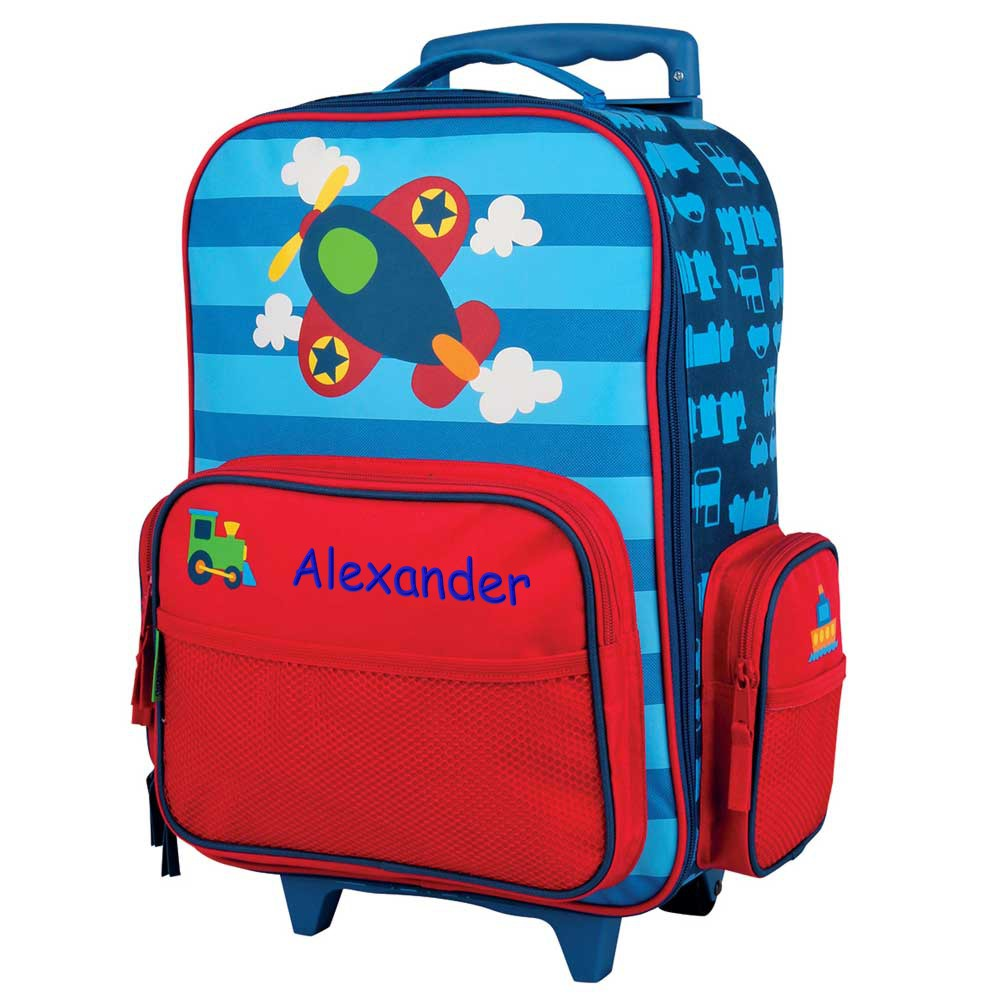 Personalized Airplane Rolling Luggage