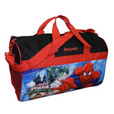 Personalized Spiderman Kids Travel Duffel Bag - 18""