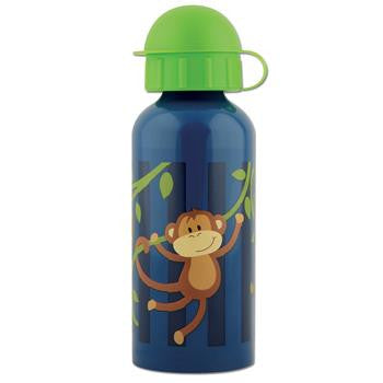 Classic Stainless Steel Kids Water Bottle - Monkey Around