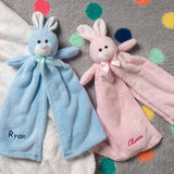 Personalized Plush Baby Cuddler - 17 inch - Bunny