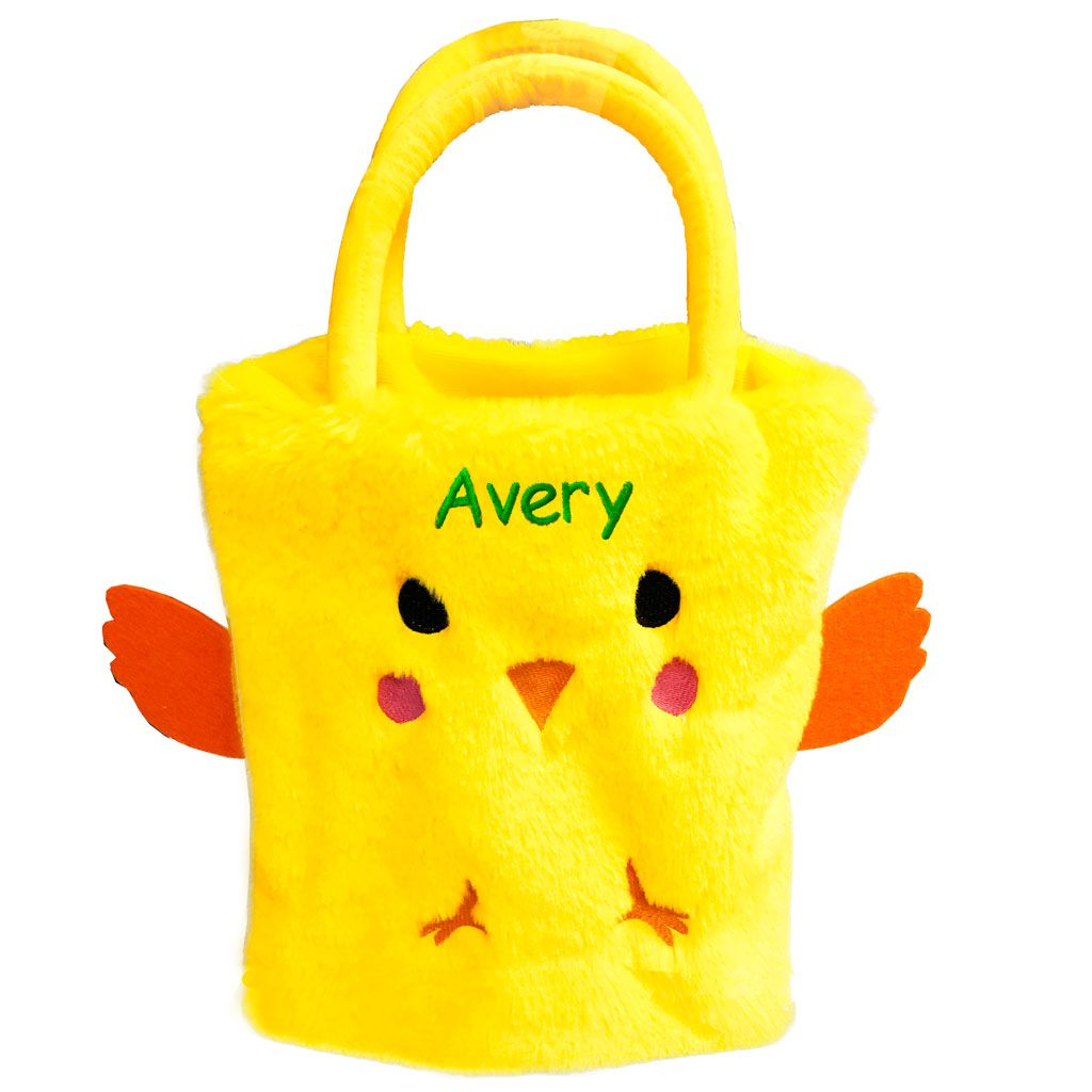 Personalized Plush Easter Sack - Chick