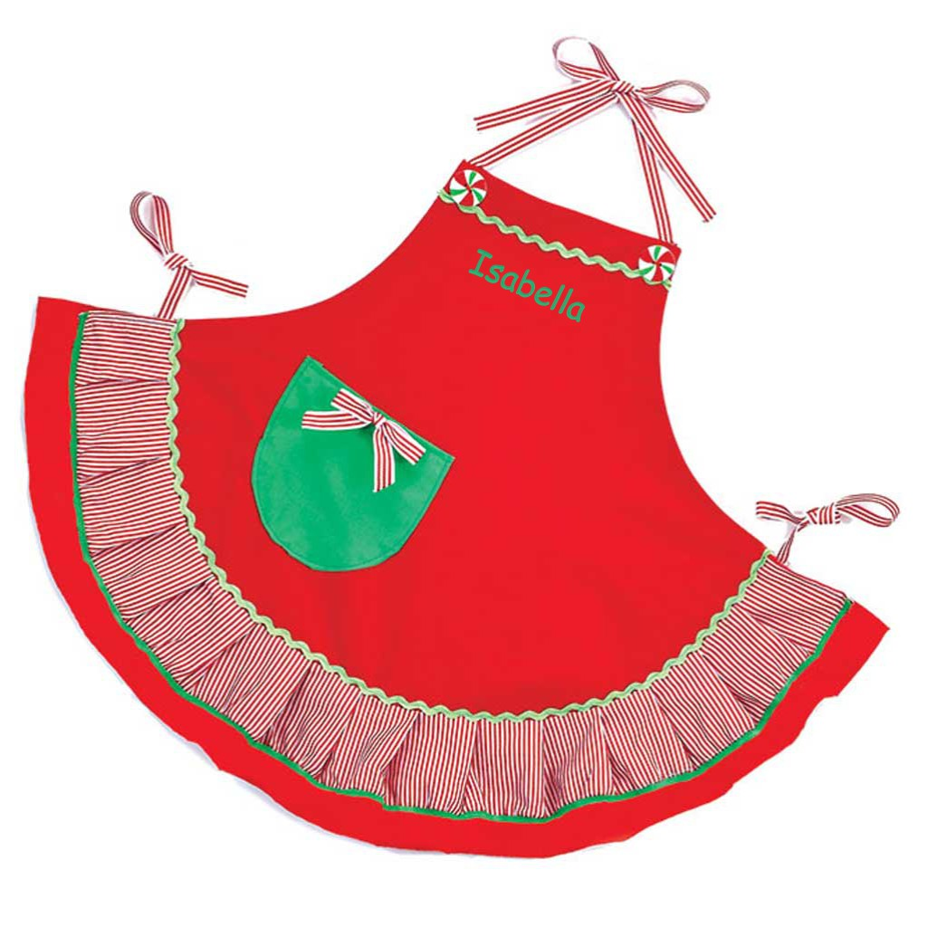 Personalized Christmas Apron (Child Size)