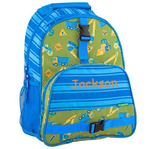 Personalized Construction Trucks Trendsetter Backpack