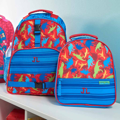 Personalized Dinosaur Trendsetter Backpack & Lunch Box Combo