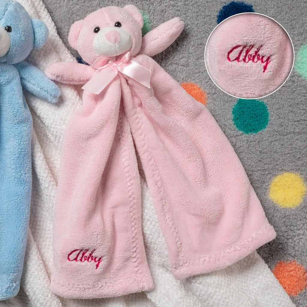 Personalized Plush Baby Cuddler - 17 inch - Teddy Bear