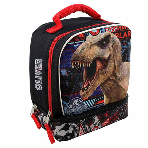 Personalized Jurassic World Two Compartment Lunch Box
