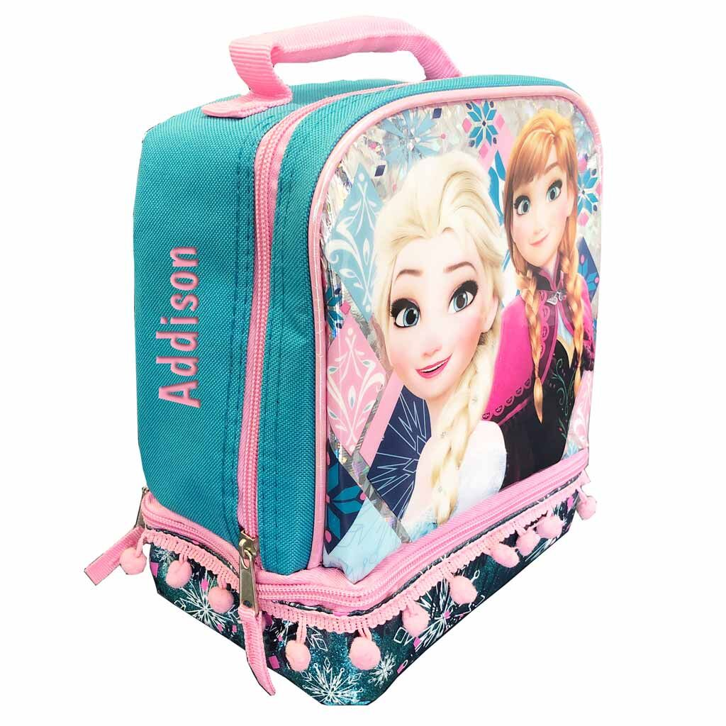 Personalized Frozen Lunch Box - Dual Compartment