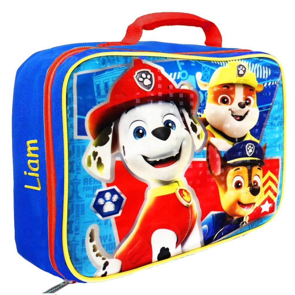 Personalized Paw Patrol Lunch Box