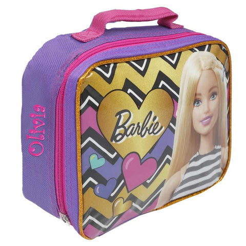 Personalized Barbie Lunch Box