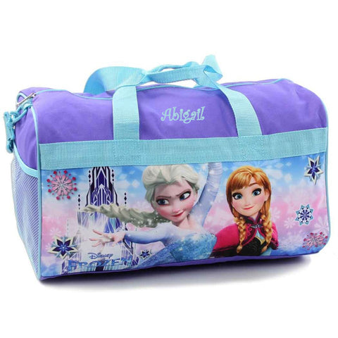 Personalized Frozen Kids Travel Duffel Bag - 18
