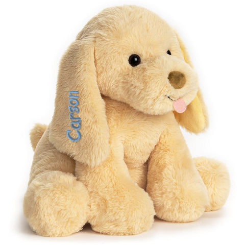 Personalized Animated Puppy Plush Toy