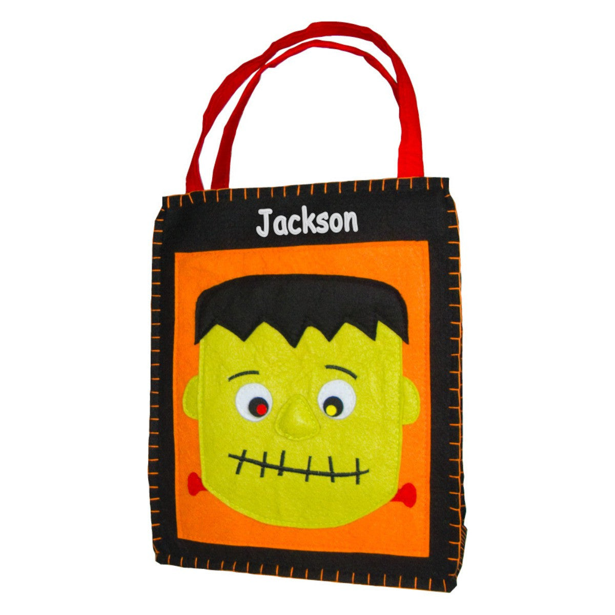 Personalized Classic Mr Frank Stein Trick or Treat Bag - Small