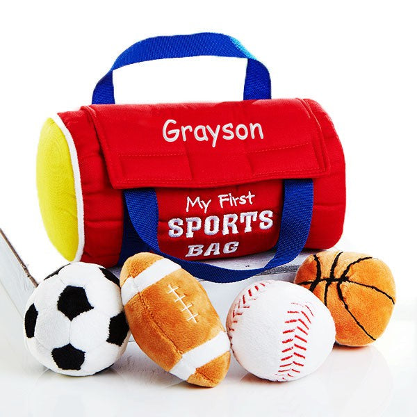 "Personalized My First Sportsbag 8"" Playset"