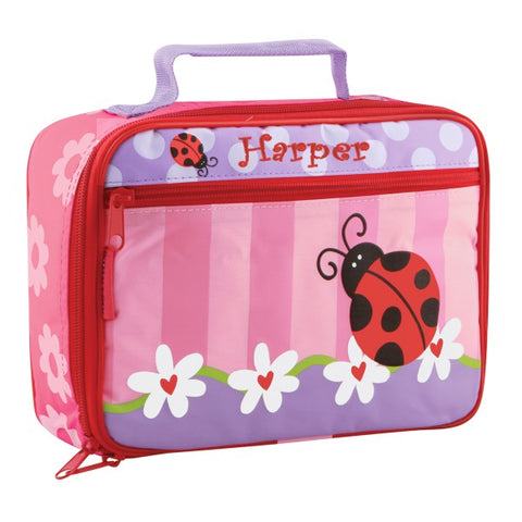 Personalized Classic Ladybug Lunch Box