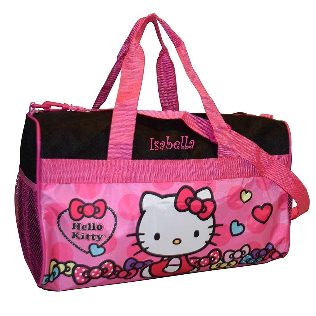 Personalized Hello Kitty Duffel Bag - 18""