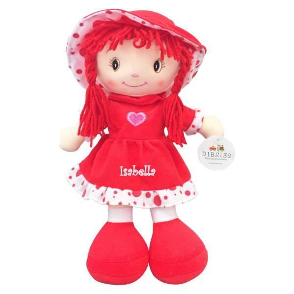 Personalized Sweetheart Cuddle Doll - 14 Inch