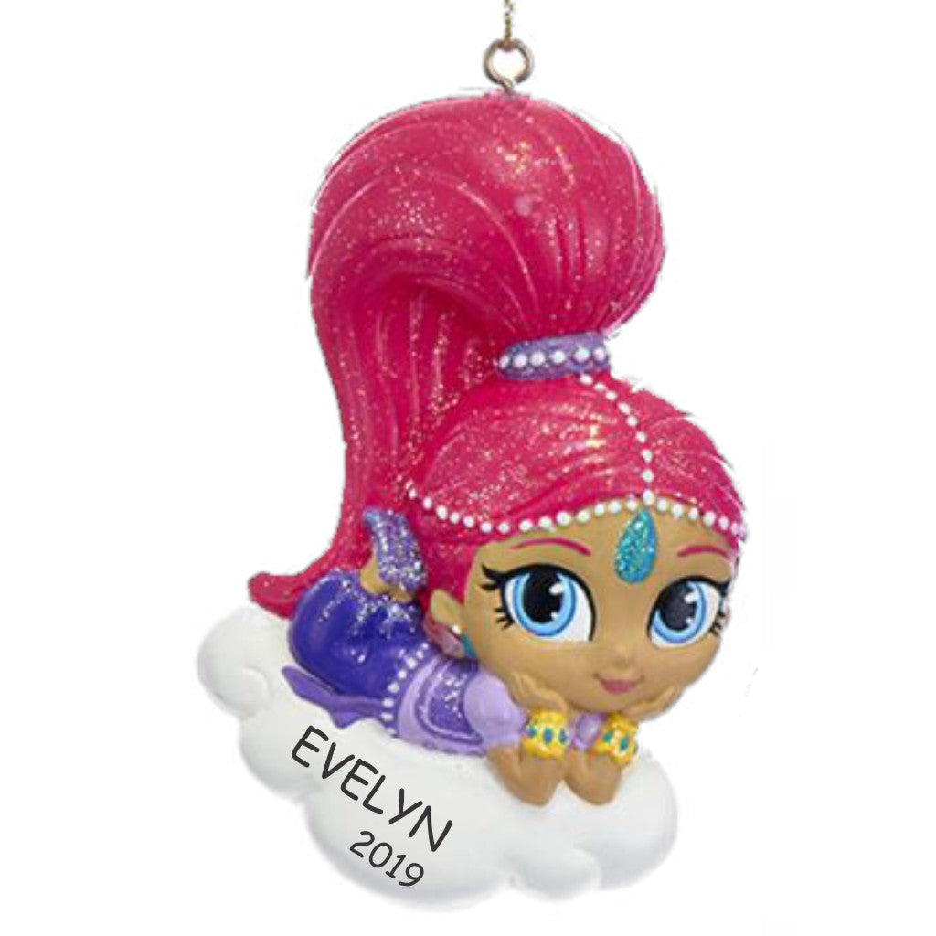 Personalized Shimmer and Shine Ornament - Shimmer