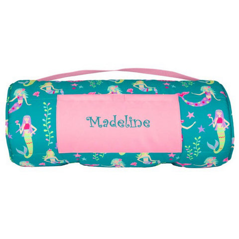Personalized Toddler & Preschool Nap Mats - Mermaids