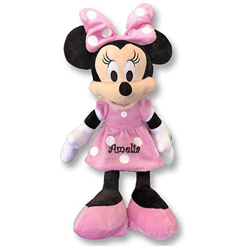 Personalized Disney's Minnie Mouse Plush Doll - 15 Inch
