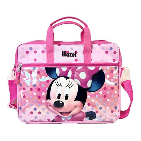 Personalized Minnie Tablet Case with Shoulder Strap