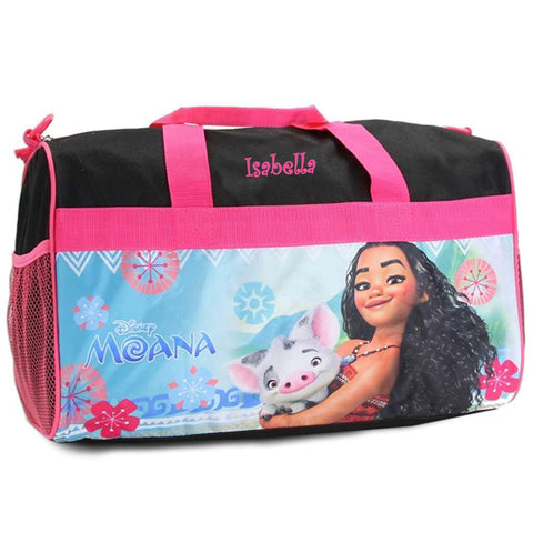 Personalized Moana Kids Travel Duffel Bag - 18