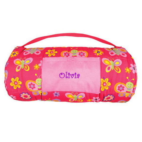 Personalized Toddler & Preschool Nap Mats - Butterflies