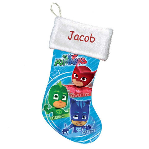 Personalized PJ Masks Christmas Stocking