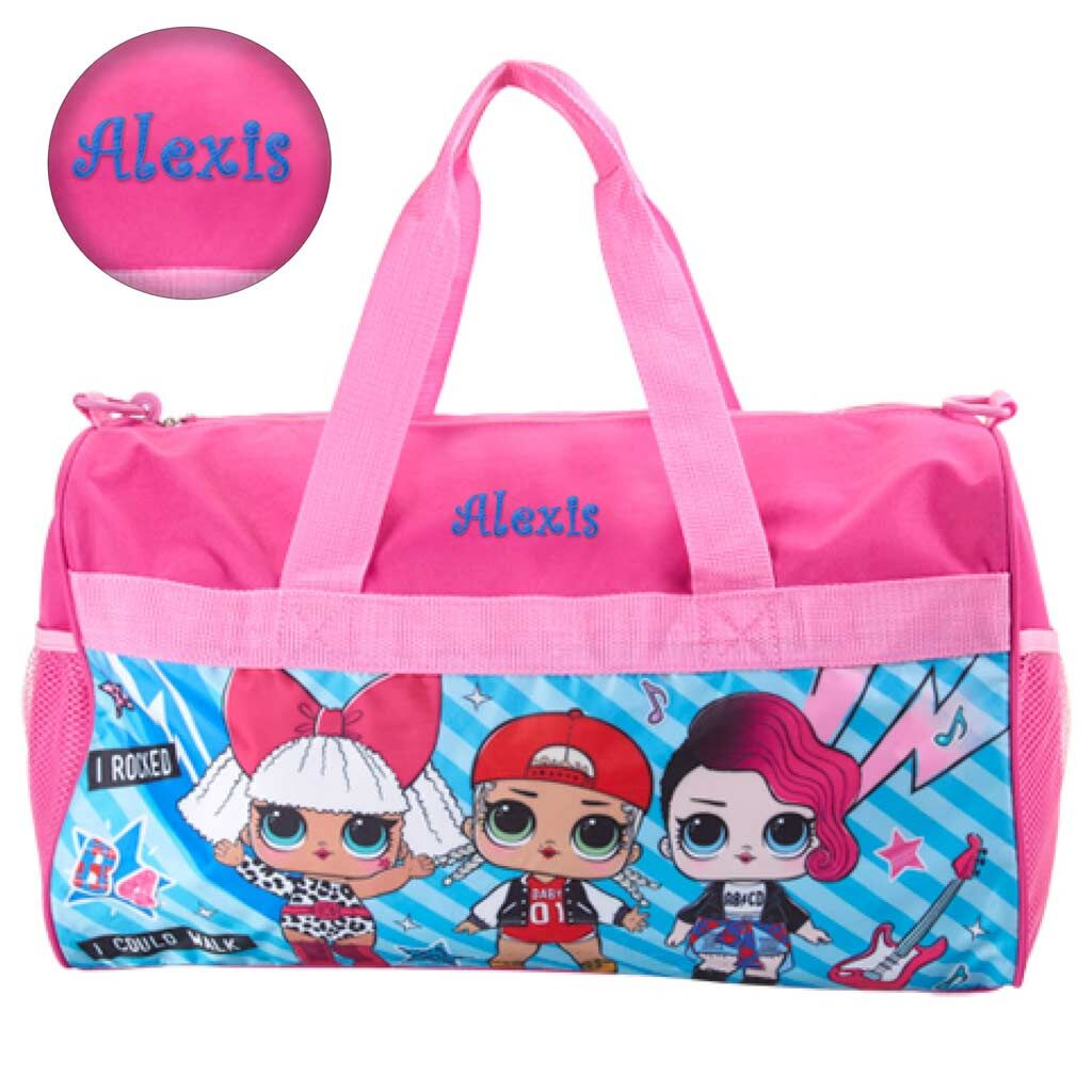PERFECT CHRISTMAS//BIRTHDAY GIFTS GIRLS PERSONALIZED LOL DOLL COTTON TOTE BAG