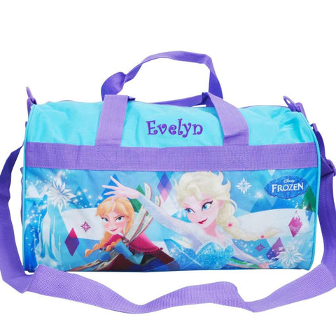 Personalized Frozen Travel Duffel Bag - 18