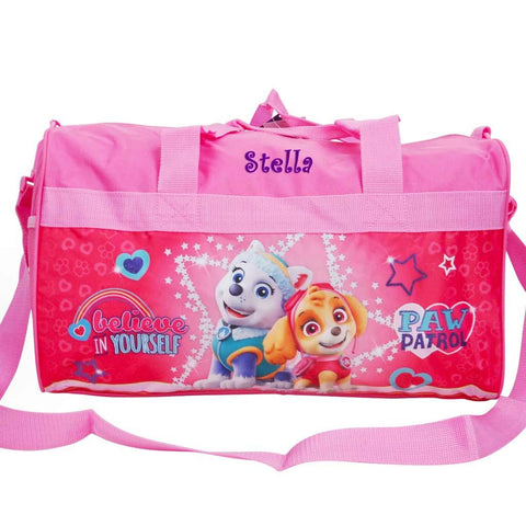 Personalized Paw Patrol Kids Travel Duffel Bag - 18