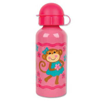 Classic Stainless Steel Kids Water Bottle - Pretty Monkey