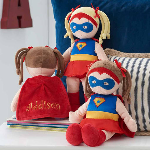 Personalized Dibsies Super Hero Dolls - 14 Inch