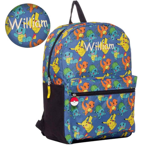 Personalized Pokemon Gotta Catch 'Em All Backpack - 16 Inch